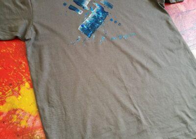 Malované triko 002