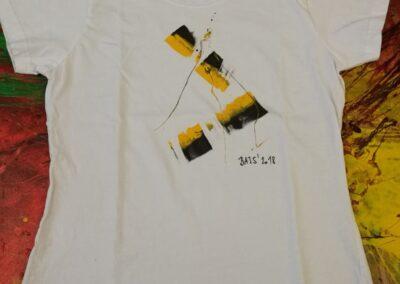 Malované triko 008